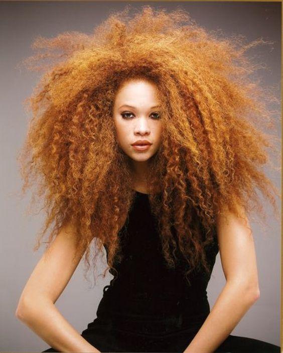 Faire une couleur sur cheveux crepus