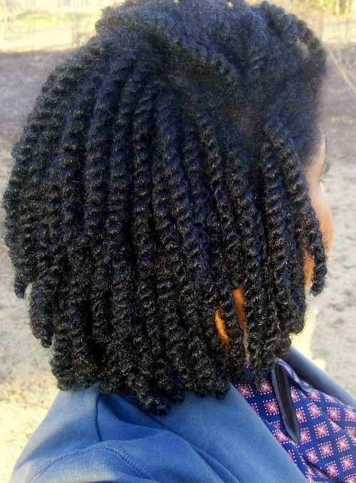 mini twists - cheveux afros