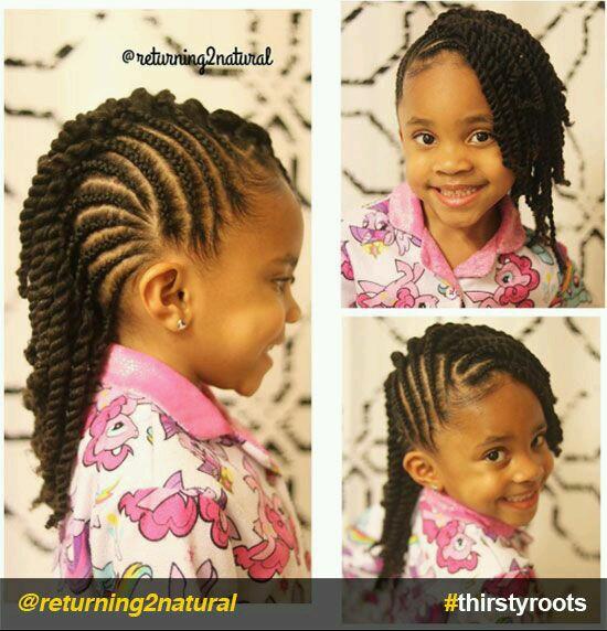 coiffures vanilles petites filles