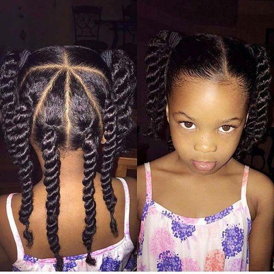 coiffure vanille petites filles