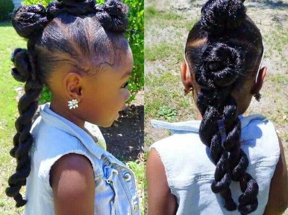 5 Idées De Coiffures Pour Petites Filles Ma Coiffeuse Afro