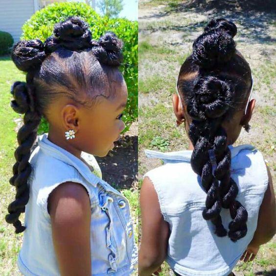 5 Idees De Coiffures Pour Petites Filles Ma Coiffeuse Afro
