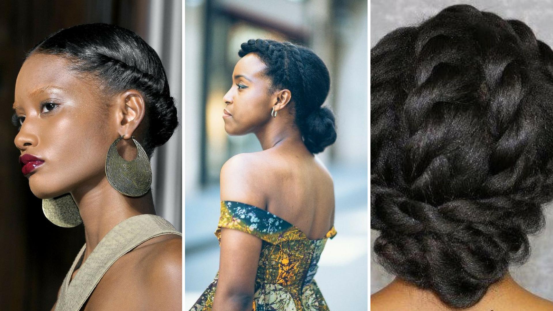 Femme noire coupe