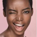 femme noire sourire