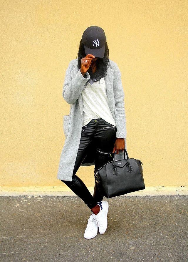 femme noire, casquette NY, casquette tendance, accessoire tendance