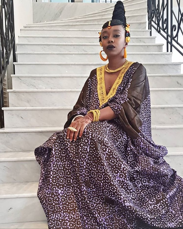 femme africaine, boubou, looks préférés, festivals de Cannes