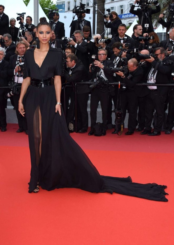 Flora Coquerel, miss France, festival de Cannes 2018