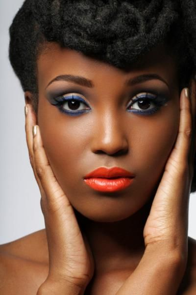 Mariage  15 Inspirations Make-Up - Ma Coiffeuse Afro-3980
